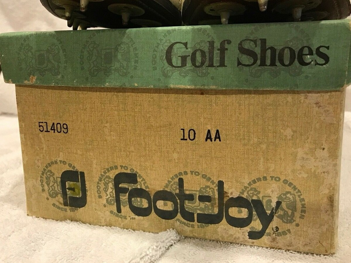 1970s FootJoy Golf Shoe box