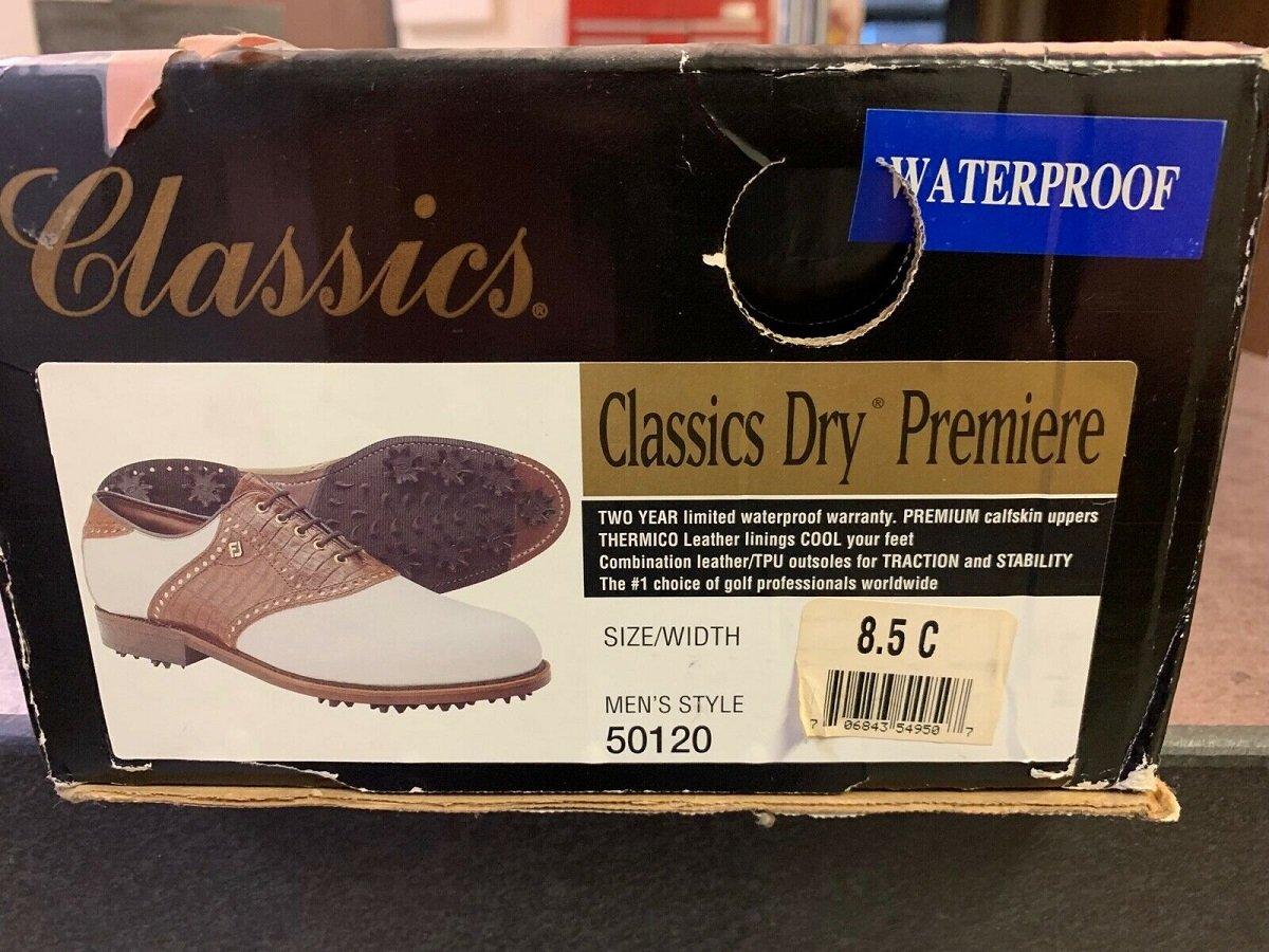 Early 2000s FootJoy Golf Shoe box