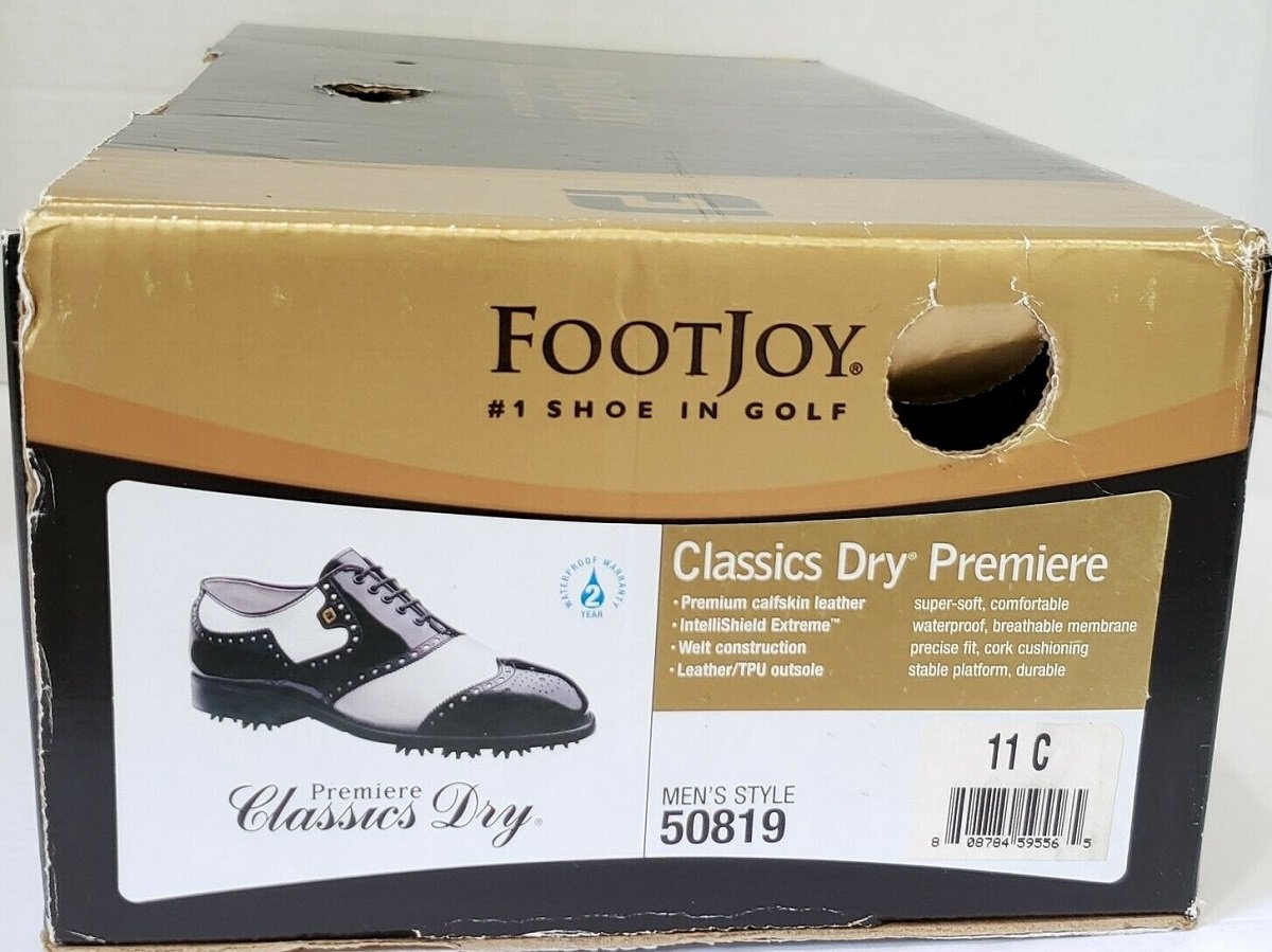 Late 2000s FootJoy Golf Shoe box