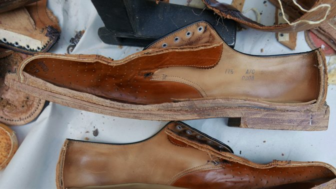 Nettleton Shoe Cross-Section